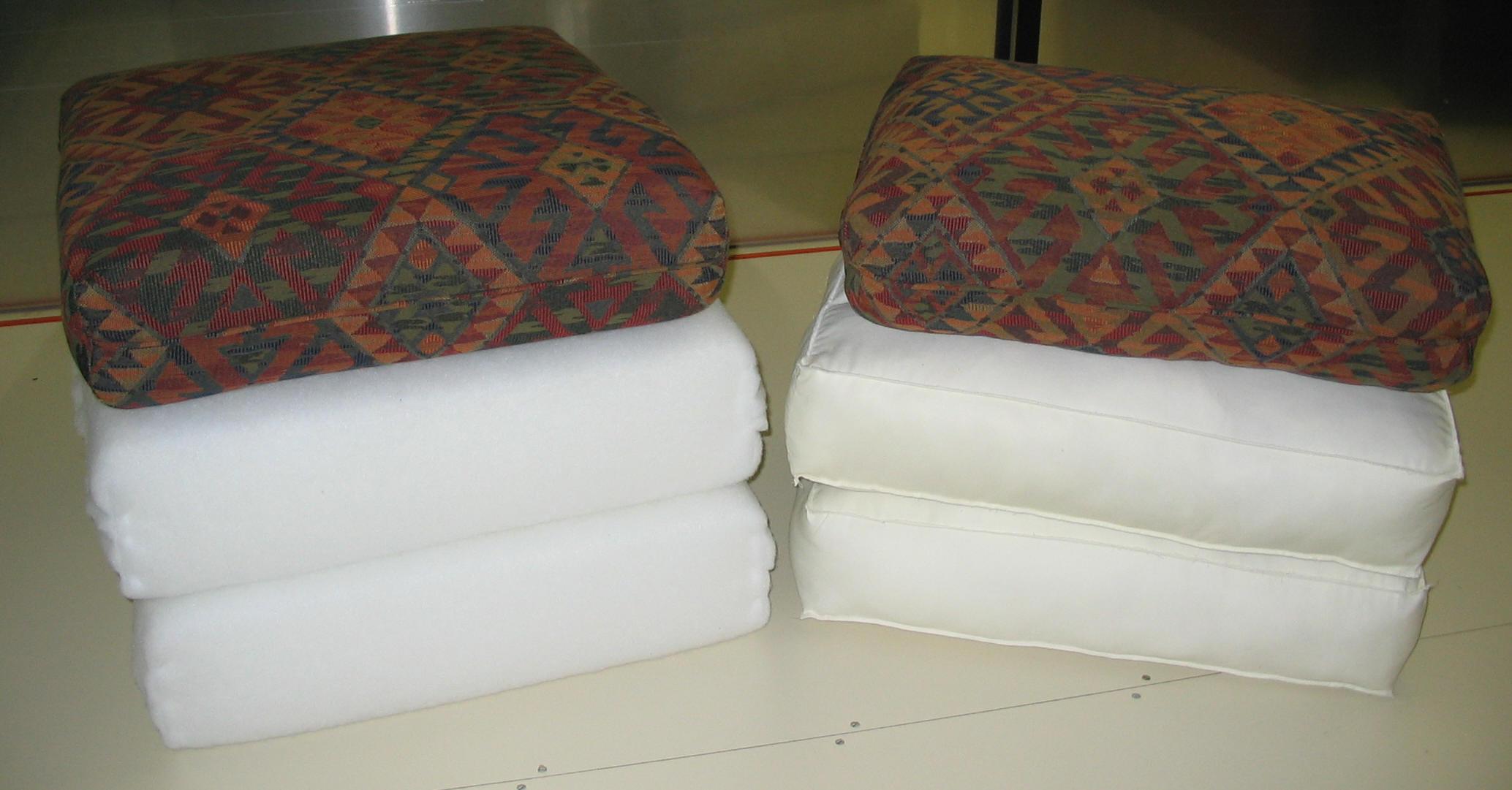 Cushions1 Customfoam Small Backwedge2 Neoprene Coloredfoamjpg Eggcreattopper1 Sofa Cushion Replacement Custom Cut Foam