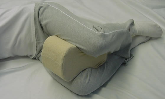 wedge elevate contoured improves for support circulation pillow muscle product relaxer legs leg