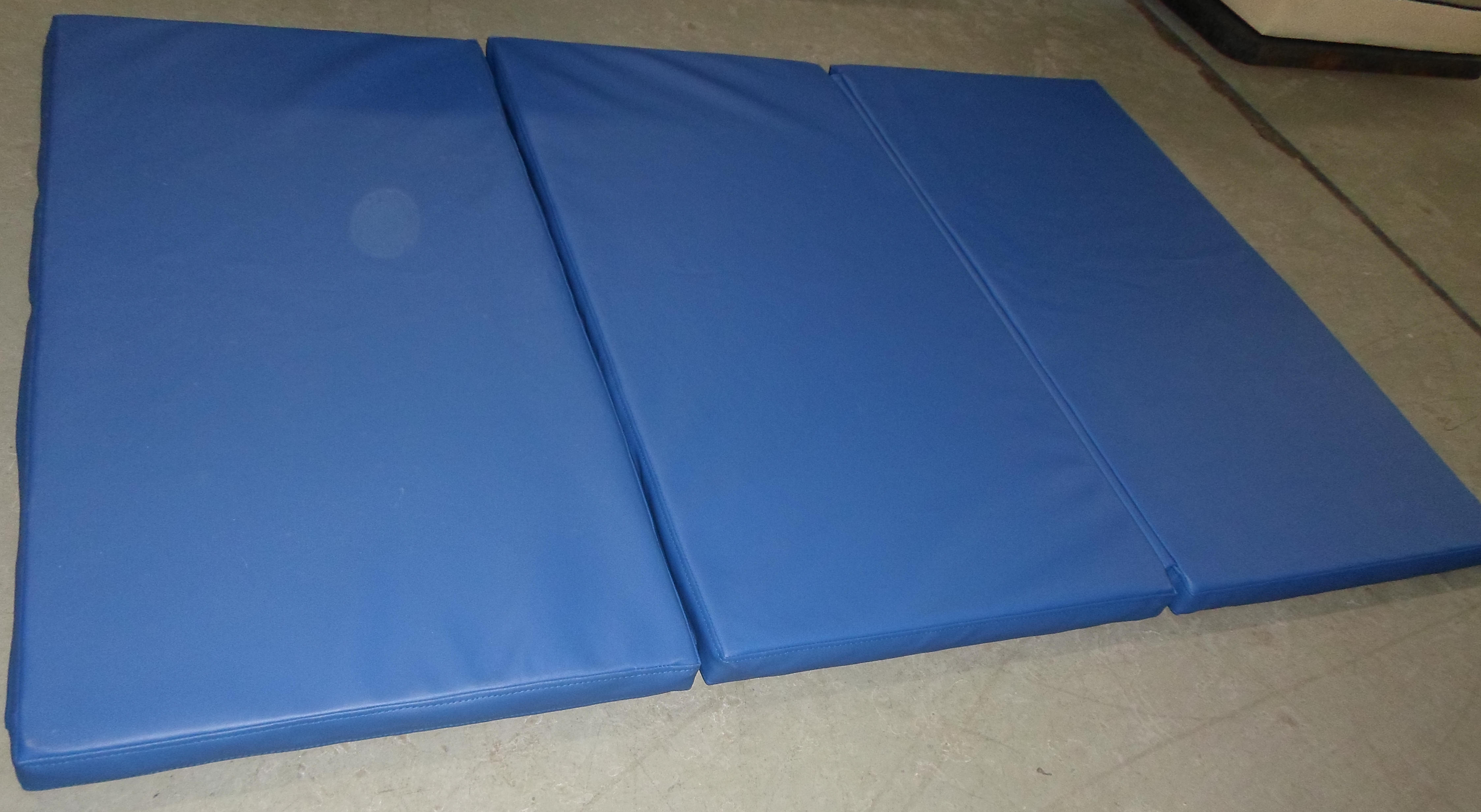 tri fold health no ip mat and exercise mats fitness sunny com walmart