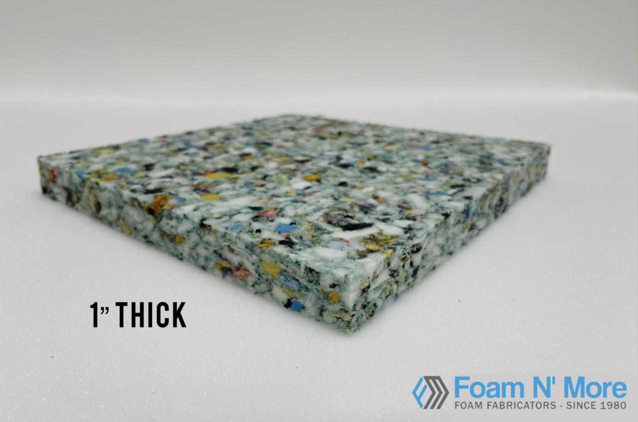 """1"""" thick rebound Foam"""