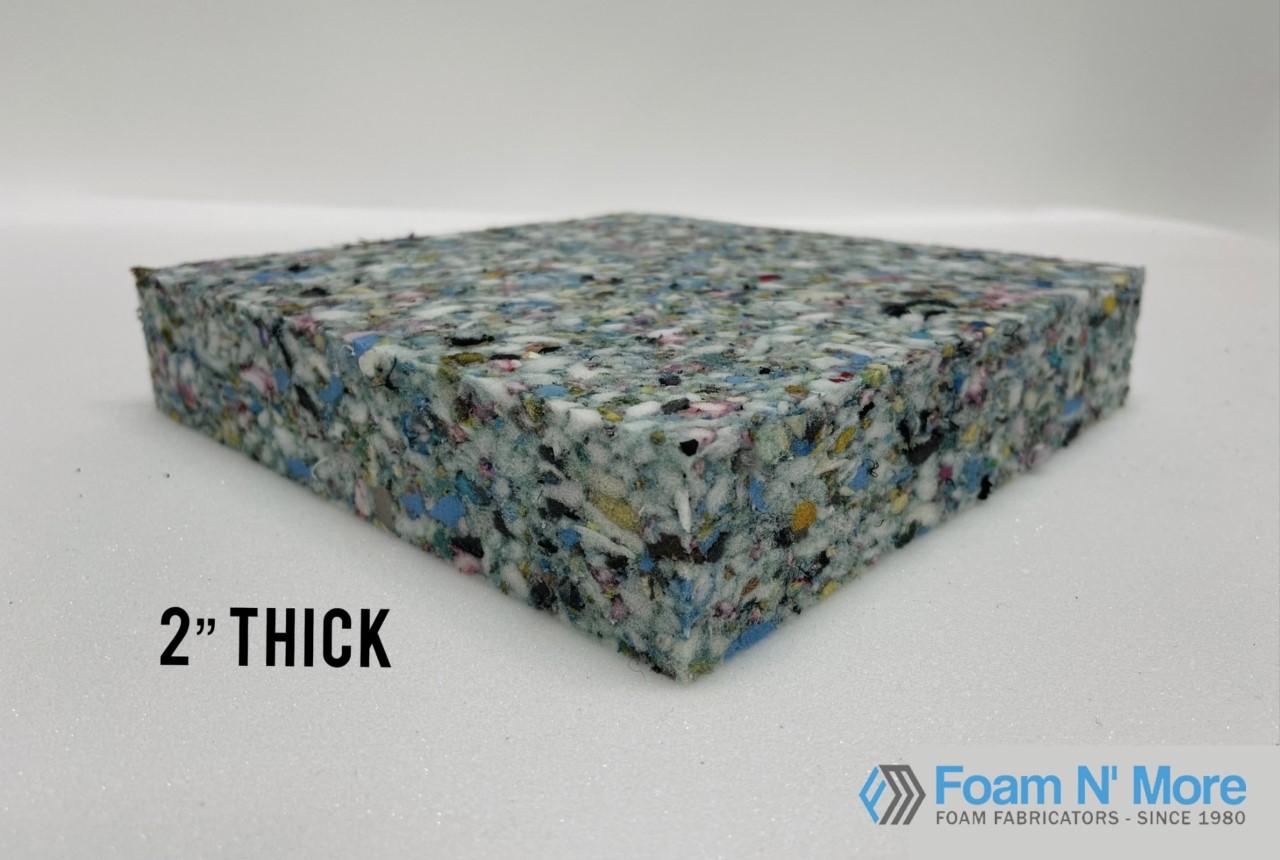 """2"""" thick rebound Foam"""