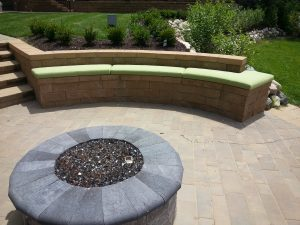 large outdoor foam cushions