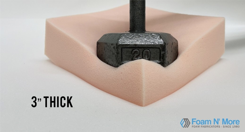 3 HD23 Soft-Med Foam with weight