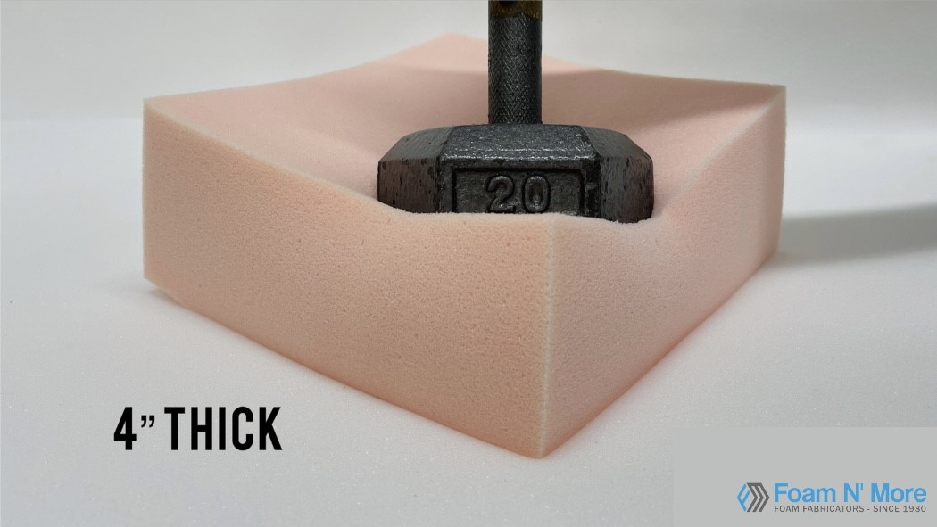 4 HD23 Soft-Med Foam with weight