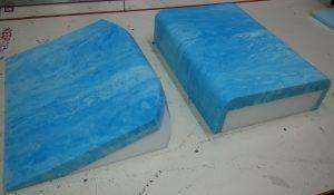 Foam Arm Relief Foam Pillow for side sleepers
