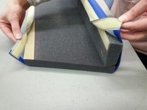 Bumper Pad with Vinyl Velcro