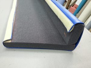 Foam Bumper Pad with Vinyl Velcro