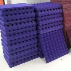 Purple Acoustic Foam