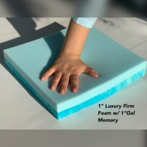 Lux Foam with memory topper