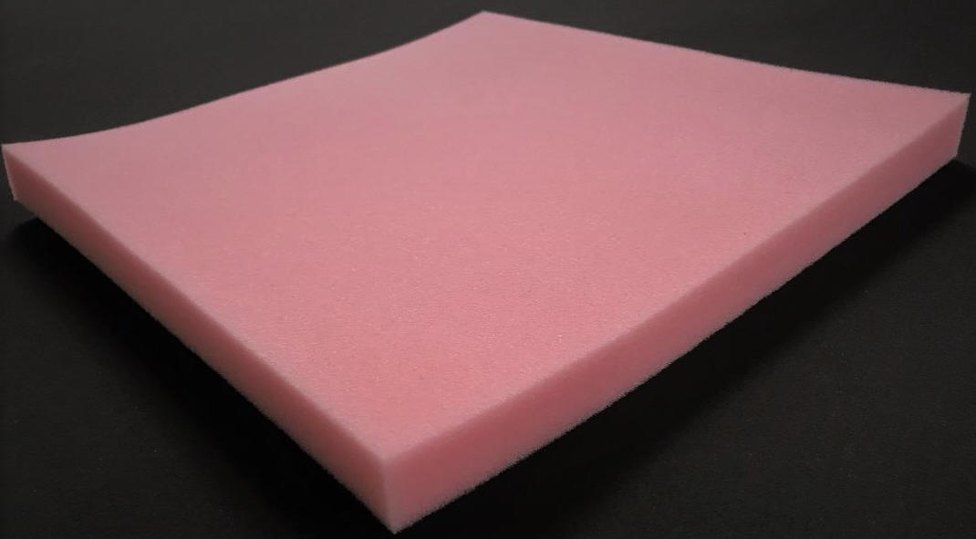 Pink-antistatic-foam