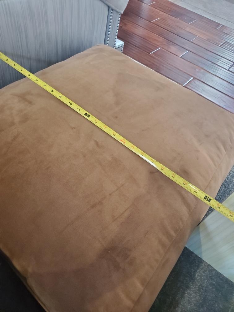 Width & Length Back cushion