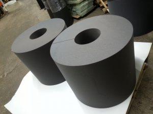 Thick foam bumper padding