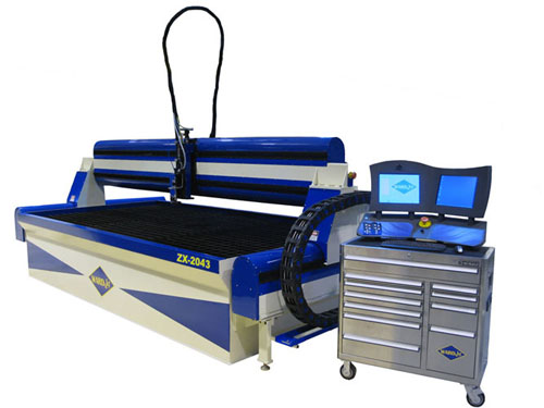 ZX-2043 waterjet cutting system