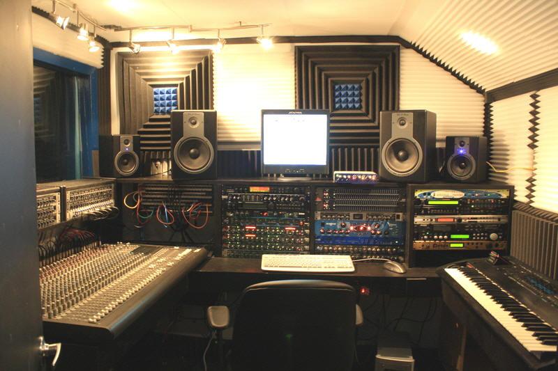 acoustic foam tiles recoding studio