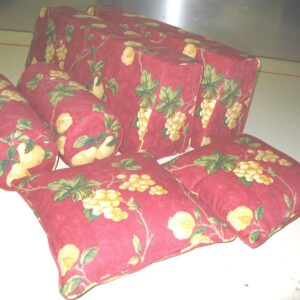 back bolster with covers