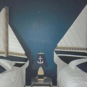 sail boat headboard