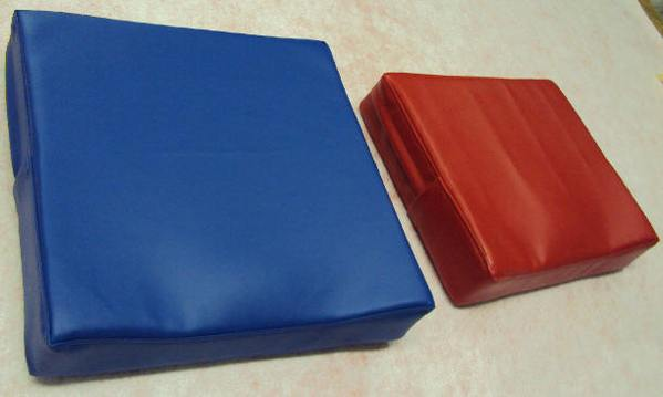chair pad with vinyl cover