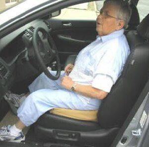 car seat foam wedge