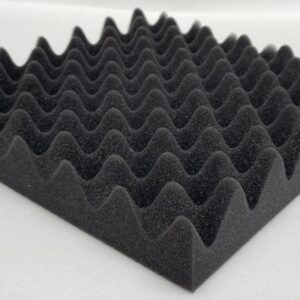 charcoal eggcrate 2.5 thick