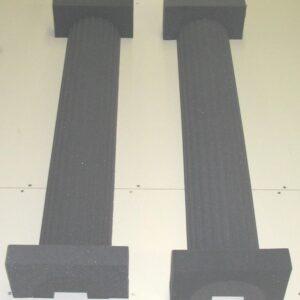 acoustic foam columns