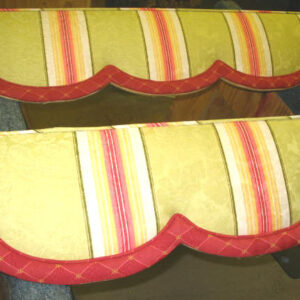 how to upholster cornice 8