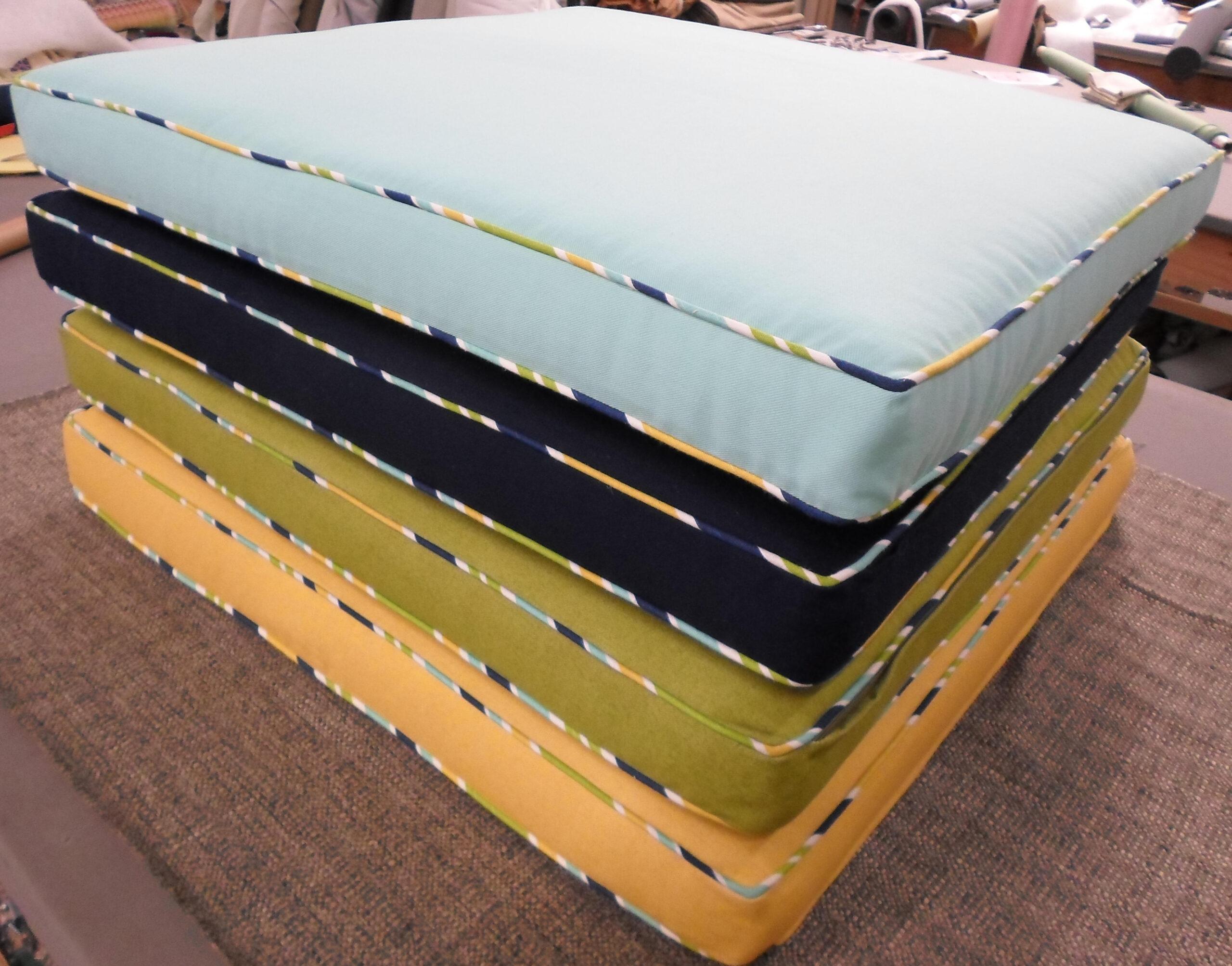 box style foam cushion