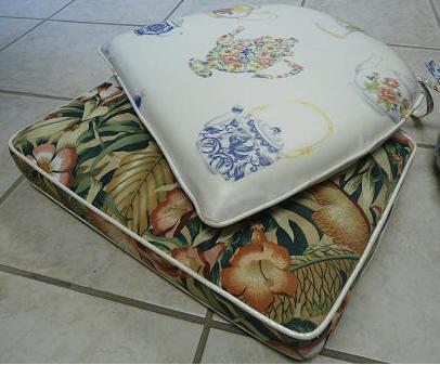 custom seat pad