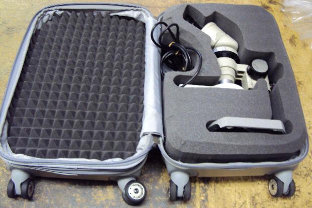 foam case for telescopes