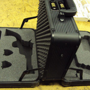 foam case with guns