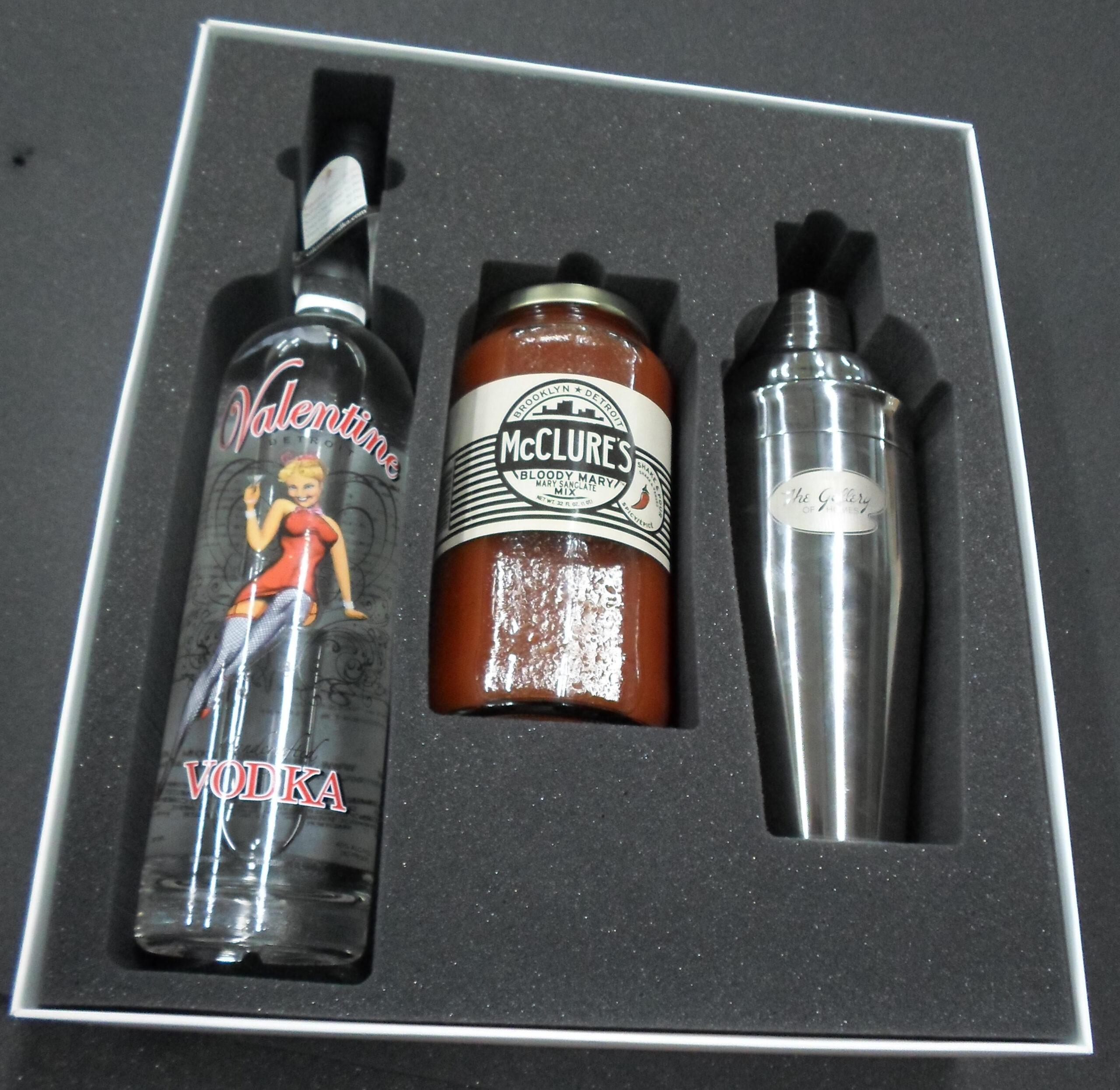 foam packaging liquor