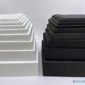 minicell foam white & black