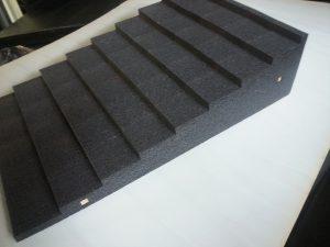 polyethylene steps custom width