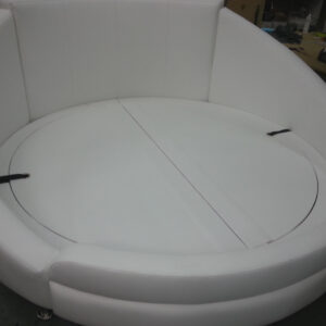 upholster round Bed