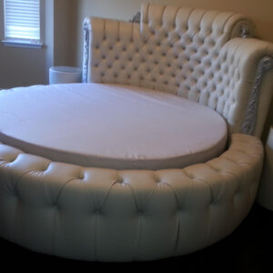 tufted round Bed headboard