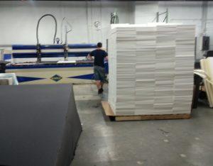 filled foam packaging