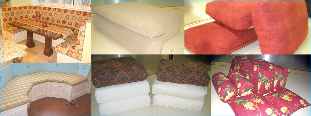 Custom Sewn Foam Cushions